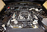 2008 Shelby GT500 Supercharger, Valve Covers, Tube, etc BEFORE Chrome-Like Metal Polishing and Buffing Services