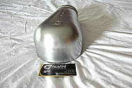 Aluminum Carburetor Piece AFTER Custom BRUSHED FINISH / Restoration Services