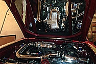 Our Customer Doug's Ford Mustang Engine Compartment AFTER Chrome-Like Metal Polishing and Buffing Services / Restoration Services