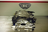 Aluminum Engine Cover Piece AFTER Chrome-Like Metal Polishing and Buffing Services / Restoration Services