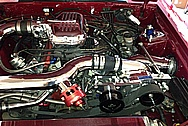 Ford Mustang Intake Manifold, Piping, Supercharger, Brackets, Etc AFTER Chrome-Like Metal Polishing and Buffing Services