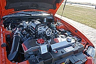 Ford Mustang Cobra Engine Compartment AFTER Chrome-Like Metal Polishing and Buffing Services