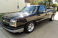Chevy Truck Aluminum Wheels AFTER Chrome-Like Metal Polishing and Buffing Services / Restoration Services