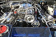 John's Ford Mustang Engine Compartment AFTER Chrome-Like Metal Polishing and Buffing Services