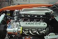 SEMA Car: Chevy Camaro V8 LSX 376 Engine Compartment AFTER Chrome - Like Metal Polishing and Buffing Services