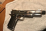 Our Customers Para .45 Semi-Automatic Gun AFTER Chrome-Like Metal Polishing - Aluminum Polishing - Gun Polishing Services