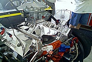 Ray Barton Engine Parts AFTER Chrome-Like Metal Polishing and Buffing Services