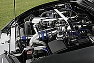 Toyota Supra 2JZ-GTE Engine Bay AFTER Chrome-Like Metal Polishing and Buffing Services
