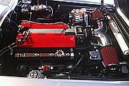 Teds 1965 Chevy Corvette Restoration Mod Engine Aluminum AC Compressor, Alternator and Steel Bracket AFTER Chrome-Like Metal Polishing and Buffing Services