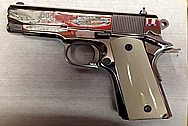 Our Customer's Colt MKIV Gun AFTER Chrome-Like Metal Polishing and Buffing Services / Restoration Services
