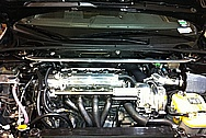 Jacob's Scion TC TRD Engine Compartment AFTER Chrome-Like Metal Polishing and Buffing Services