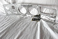 Chevrolet Aluminum Automotive Dash Panel / Instrument Panel Cluster AFTER Chrome-Like Metal Polishing and Buffing Services