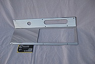Aluminum Automotive Dash Panel AFTER Chrome-Like Metal Polishing and Buffing Services