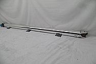 Chevy Aluminum Driveshaft AFTER Chrome-Like Metal Polishing - Aluminum Polishing