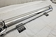 Aluminum Driveshaft and Yoke AFTER Chrome-Like Metal Polishing - Aluminum Polishing