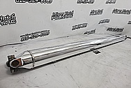 Chevy 2500 HD Quad Cab Truck Aluminum Driveshaft AFTER Chrome-Like Metal Polishing - Aluminum Polishing
