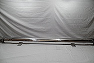 2015 Chevy 1500 Series Aluminum Driveshaft AFTER Chrome-Like Metal Polishing and Buffing Services / Restoration Services