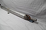 2015 Chevy 2500 Series Aluminum Driveshaft BEFORE Chrome-Like Metal Polishing and Buffing Services / Restoration Services