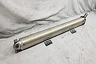 Aluminum Driveshaft and Yoke BEFORE Chrome-Like Metal Polishing - Aluminum Polishing