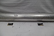 2015 Chevy 1500 Series Aluminum Driveshaft BEFORE Chrome-Like Metal Polishing and Buffing Services / Restoration Services