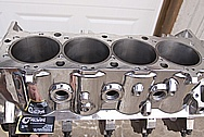 Dart Aluminum V8 Engine Block AFTER Chrome-Like Metal Polishing and Buffing Services