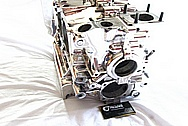 1967 VW Volkswagen Aluminum Engine Block AFTER Chrome-Like Metal Polishing and Buffing Services