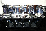 Aluminum V8 Engine Block AFTER Chrome-Like Metal Polishing and Buffing Services / Restoration Services