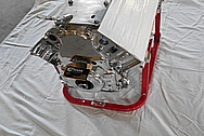 Aluminum Motorcycle Engine Block AFTER Chrome-Like Metal Polishing and Buffing Services / Restoration Services