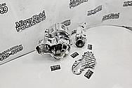 S&S Aluminum Motorcycle Engine Block AFTER Chrome-Like Metal Polishing - Aluminum Polishing - Motorcycle Parts Polishing - Engine Polishing