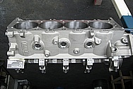 Dart Aluminum V8 Engine Block BEFORE Chrome-Like Metal Polishing and Buffing Services