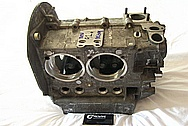 1967 VW Volkswagen Aluminum Engine Block BEFORE Chrome-Like Metal Polishing and Buffing Services