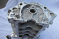 Aluminum V8 Engine Block BEFORE Chrome-Like Metal Polishing and Buffing Services / Restoration Services