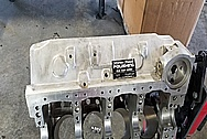 Aluminum V8 Engine Block BEFORE Chrome-Like Metal Polishing - Aluminum Polishing Services