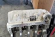 Aluminum V8 Engine Block BEFORE Chrome-Like Metal Polishing - Aluminum Polishing Services