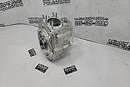 S&S Aluminum Motorcycle Engine Block BEFORE Chrome-Like Metal Polishing - Aluminum Polishing - Motorcycle Parts Polishing - Engine Polishing