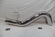 "5"" Stainless Steel Exhaust for Truck AFTER Chrome-Like Metal Polishing and Buffing Services / Restoration Services"