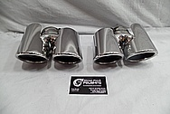 Aluminum Exhaust AFTER Chrome-Like Metal Polishing and Buffing Services / Restoration Services