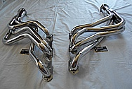 Stainless Steel Exhaust Headers and Flange AFTER Chrome-Like Metal Polishing and Buffing Services / Restoration Services