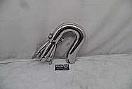 Stainless Steel Exhaust Headers AFTER Chrome-Like Metal Polishing - Stainless Steel Polishing - Exhaust Header Polishing
