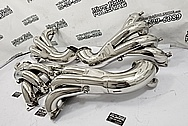 Stainless Steel Truck Exhaust Muffler AFTER Chrome-Like Metal Polishing and Buffing Services - Stainless Steel Polishing