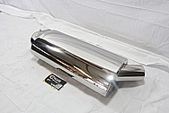 Buell XB Stainless Steel Motorcycle Muffler AFTER Chrome-Like Metal Polishing and Buffing Services / Restoration Services