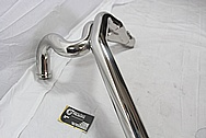 Buell XB Motorcycle Stainless Steel Exhaust Piping AFTER Chrome-Like Metal Polishing and Buffing Services