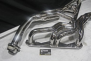 Borla Stainless Steel Headers AFTER Chrome-Like Metal Polishing and Buffing Services / Restoration Services