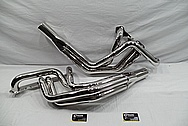 Stainless Steel Exhaust Headers AFTER Chrome-Like Metal Polishing and Buffing Services / Restoration Services