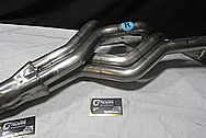 Borla Stainless Steel Headers BEFORE Chrome-Like Metal Polishing and Buffing Services / Restoration Services