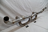 2004-2008 Lamborghini Gallardo stainless steel Exhaust BEFORE Chrome-Like Metal Polishing and Buffing Services / Restoration Services