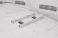 Holley EFI Aluminum Fuel Rails AFTER Chrome-Like Metal Polishing - Aluminum Polishing