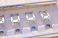 Chevy V8 Aluminum Fuel Rails AFTER Chrome-Like Metal Polishing and Buffing Services