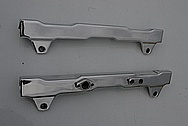 Ford Shelby Aluminum Fuel Rails AFTER Chrome-Like Metal Polishing and Buffing Services