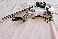 Toyota Supra Aluminum Fuel Rail AFTER Chrome-Like Metal Polishing and Buffing Services